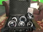 Zeiss 5 lens set Nikon mount 85mm 50mm 35mm 25mm 18 fast aperture bonus Case and Sony E Mount Metabones adapter and